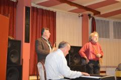 Bohus Zoltán, Buják Andor,  Michel Montanaró